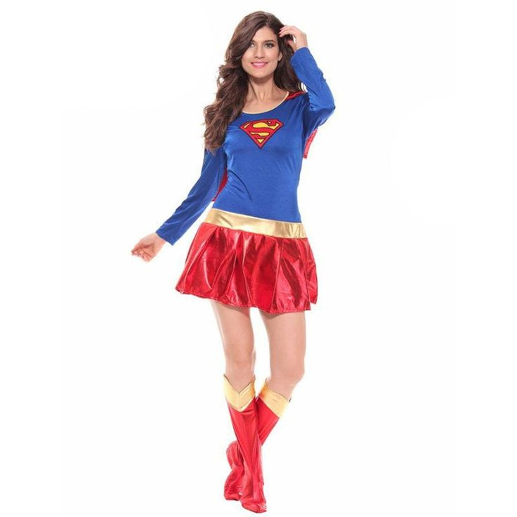 Supergirl Halloween Costume for Woman