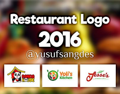 """Check out new work on my @Behance portfolio: """"Restaurant Logo 2016 (January- May)"""" http://be.net/gallery/37163713/Restaurant-Logo-2016-(January-May)"""