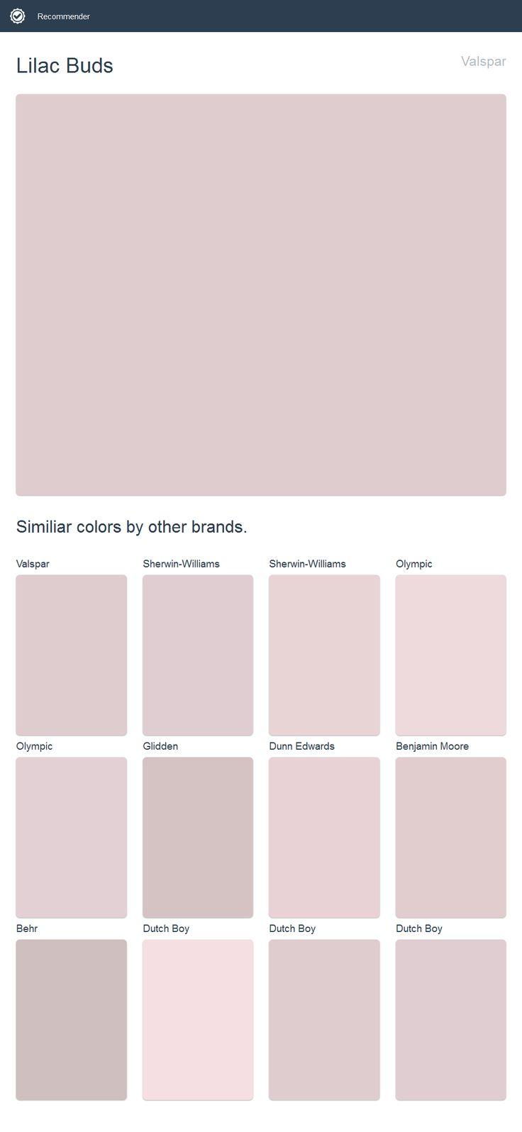 Lilac Buds Valspar 2017 Valspar Paint Pinterest