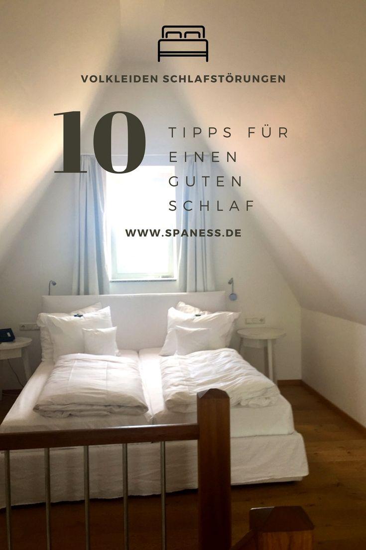 Gesundheit: schlafen ist wichtig! 10 Tipps für einen besseren Schlaf.