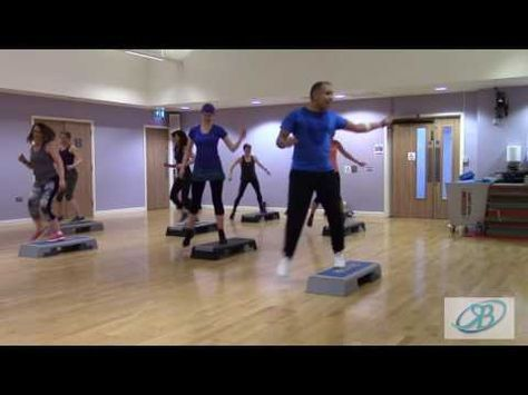 Freestyle Step Aerobics - Final Choreography Sequence - March 2017 #F028 | RBF Video - YouTube