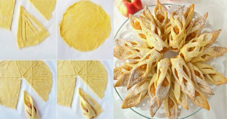 Biscuiți fragezi cu mere - un desert deosebit de apetisant și aspectuos! Atât de delicioși, încât dispar imediat de pe masă! - Bucatarul