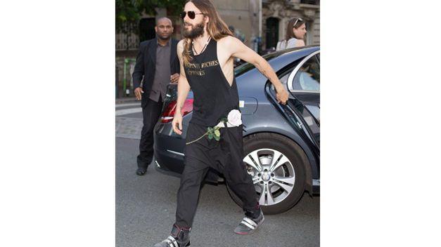 Jared Leto lleva al extremo su estilo Grunge