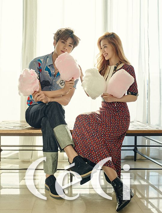 EXO Sehun and Red Velvet Irene - Ceci Magazine February Issue '16