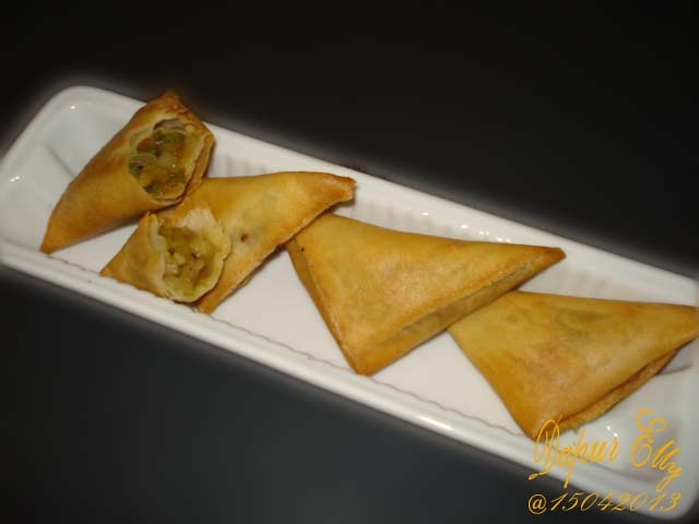 Samosa Stirred Fry Vegetables