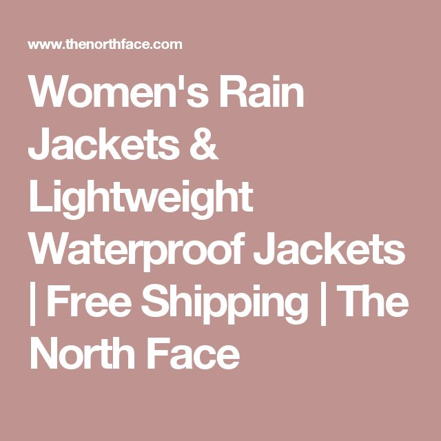 Women's Rain Jackets & Lightweight Waterproof Jackets | Free Shipping | The North Face