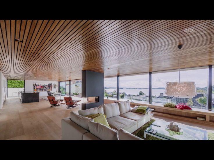 Tommie Wilhelmsen - Windows flush with ceiling, shelving under.