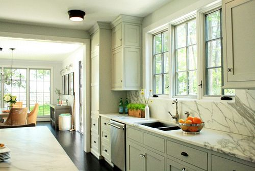 17 best ideas about gray green paints on pinterest for Atrium white kitchen cabinets