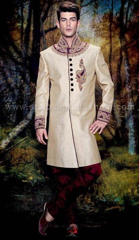 The 25+ best Indian groom ideas on Pinterest | Sherwani, Sherwani ...