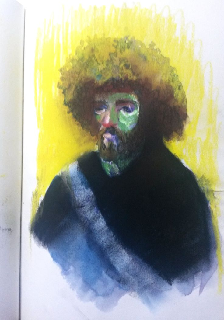 Sketchbook - waltercolors - subway - people - Welton Santos