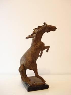 """Saatchi Art Artist Claudio Barake; Sculpture, """"STALLION"""" #art"""