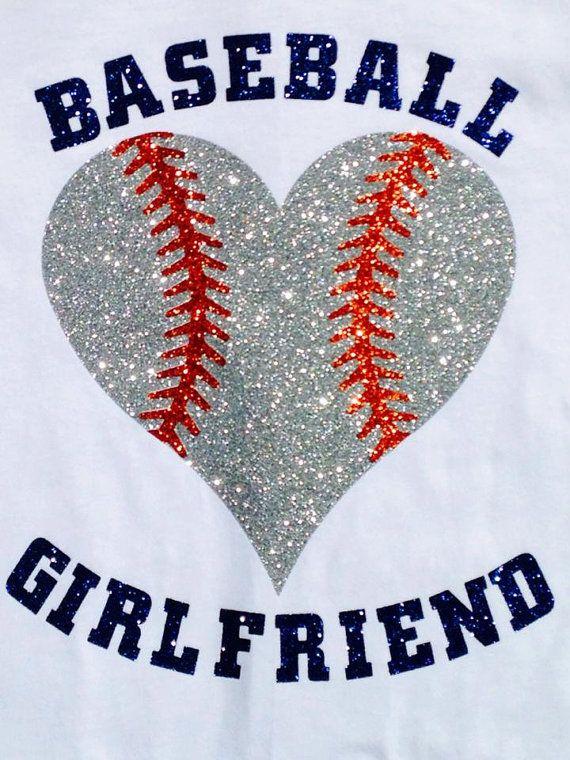 Customizeable Baseball Girlfriend Fan Wear by Zazasblingapparel, $25.00