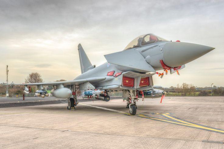 Upgrades nos caças Eurofighter Typhoon da RAF | Poder Aéreo - Forças Aéreas e Indústria Aeronáutica