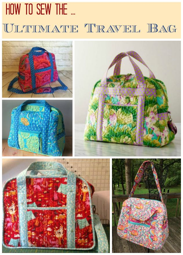 The 186 best Bag sewing videos images on Pinterest | Sewing ideas ...