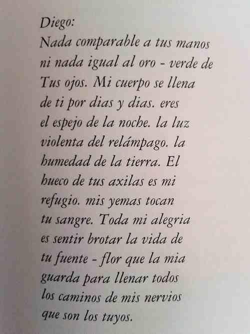 Carta de Frida Kahlo a Diego Rivera ..