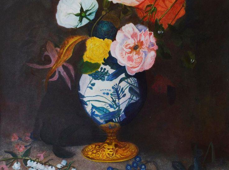 "YAC-Artist Aneta Pahl: ""Flowers in pot"""