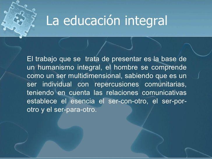 LA.EDUCACION.INTEGRAL