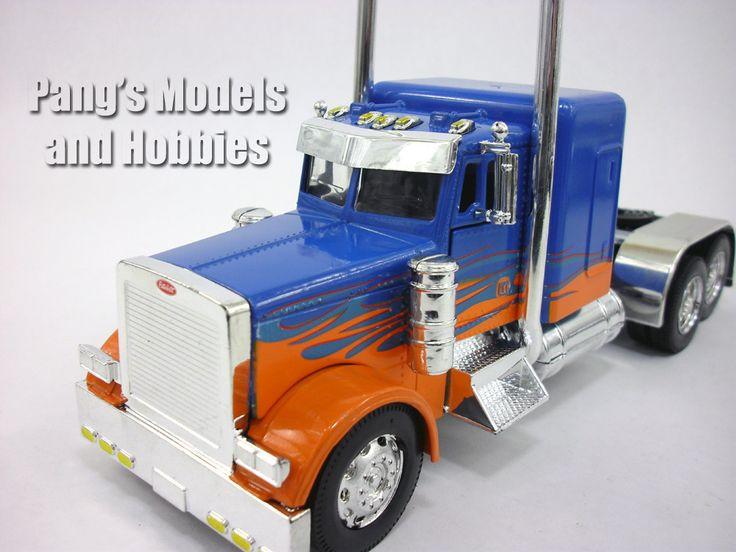 Peterbilt 379 Custom Truck Cab Diecast Metal 1/32 Scale Model by NewRay