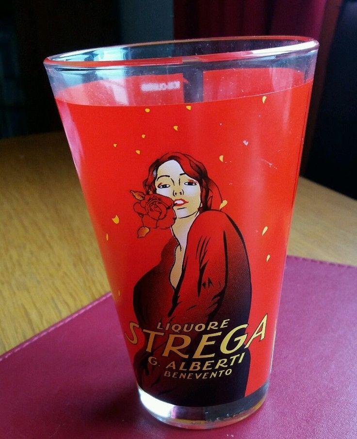 G #ALBERTIBENEVENTO #LIQUORESTREGA  COCKTAIL GLASS RED LADY