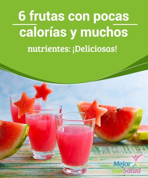 M s de 1000 ideas sobre calor as de la fruta en pinterest - Ensaladas con pocas calorias ...