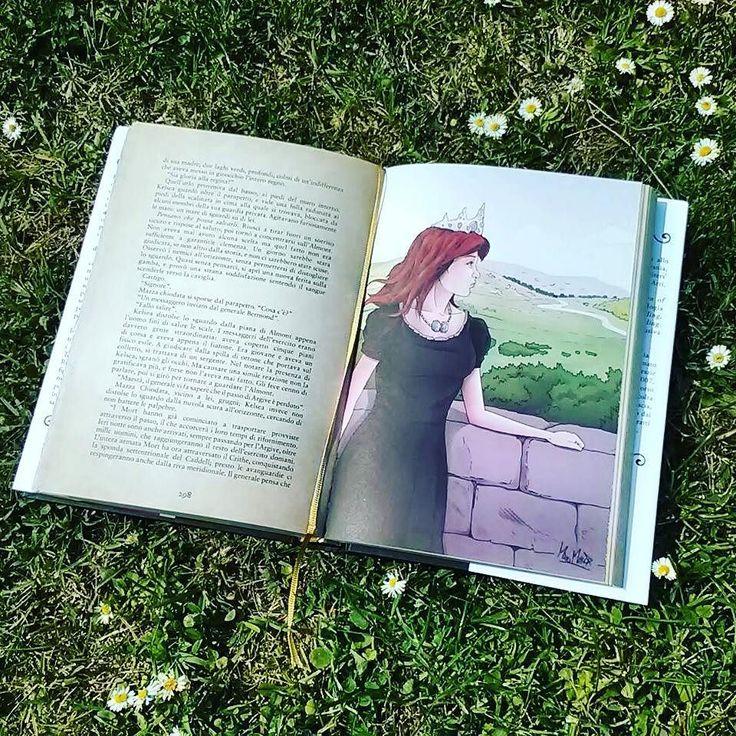 Ciao a tutti! Come sono andate le vacanze pasquali?  Oggi ringraziamo @acupofteandagoodbook che ci ha taggate per il #bookishillustrations tag.  #book #books #libro #libri #leggere #lettura #illustration #bookaholic #bookaddict #bookish #bookslover #bookstagram #bookworms #instalike #instalibro #instabook #primavera #natura #naturelovers #mondadori #storiedellabuonanotteperbambineribelli #picoftheday #photooftheday #photobooks #fotodelgiorno #illustrazione #amoreperilibri #libriovunque…