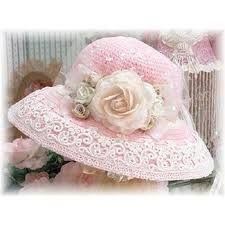 Image result for shabby chic hats