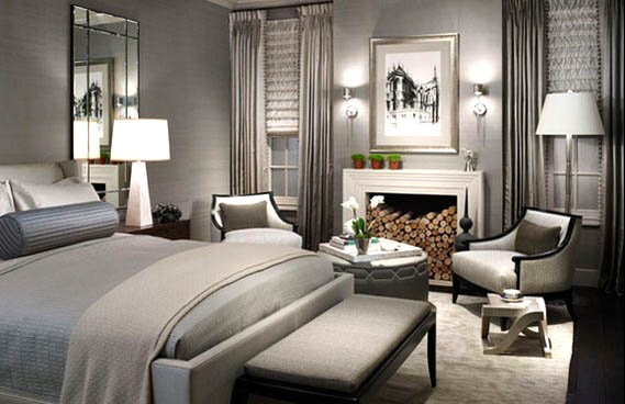 Luxurious Grey Bedroom