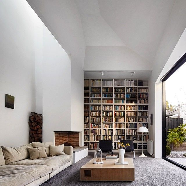 A magnificent space to read by Coy Yiontis Architects.