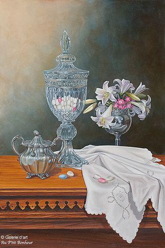 Françoise Pascals, 'Célébration', 20'' x 30'' | Galerie d'art - Au P'tit Bonheur - Art Gallery
