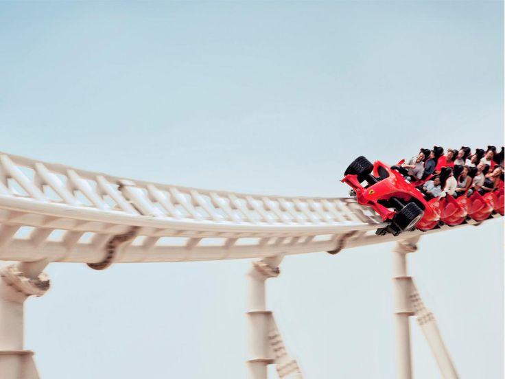 Honorable Mention - Formula Rossa - Ferrari World, Abu Dhabi : World's Coolest Roller Coasters : TravelChannel.com