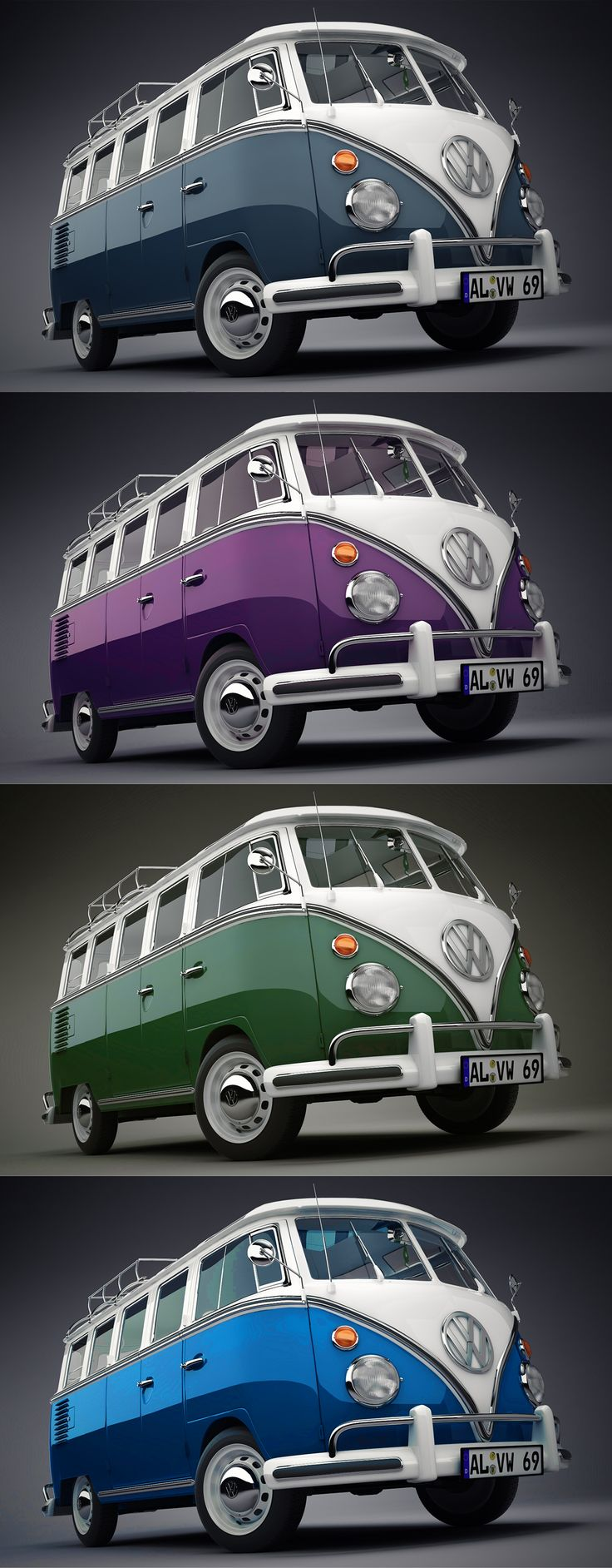 volkswagen van slot. I will take the Purple & White bus plz!!!
