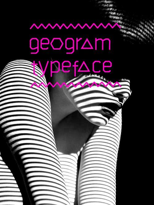 geogram typeface - free font by filiz sahin, via Behance