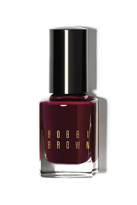 Everyone loves a good burgundy shade for the holidays. Try Bobbi Brown Nail Polish in Wine