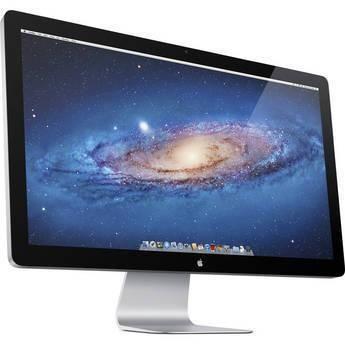 "Free Shipping! Apple 27"" Thunderbolt Display 27"" Thunderbolt Display, Thunderbolt Port + FireWire 800, 3 x USB 2.0, Gigabit Ethernet Port, Kensington Security Slot, 1000:1 Contrast,.."