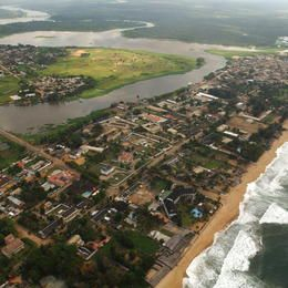 UNESCO World Heritage Site: Historic Town of Grand-Bassam, IVORY COAST