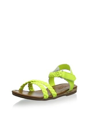 57% OFF OshKosh Kid's Lizzie Braided Sandal (Yellow)
