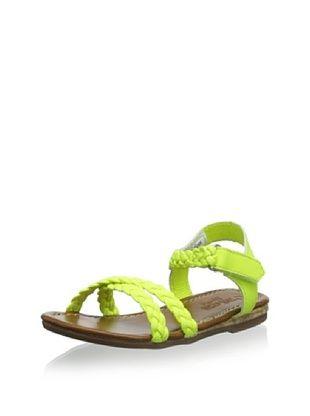 57% OFF OshKosh Kid's Lizzie Braided Sandal (Yellow)