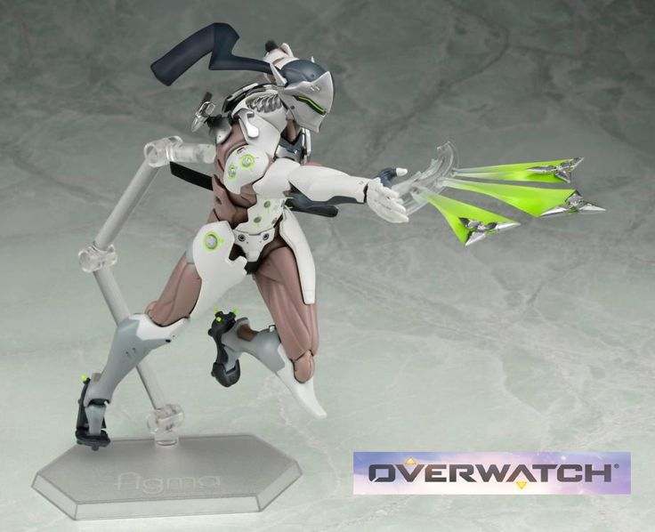 Up for preorder Figma Genji 6 inch figure from Overwatch! Now give us a Reaper and Mercy and bam. We set! Preorder him and Tracer by clicking the pic