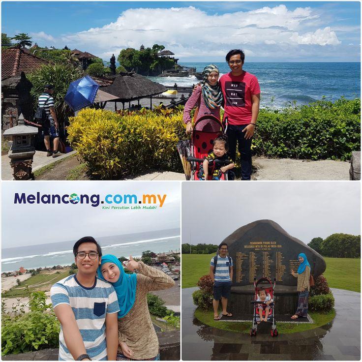 Cute & Happy Family 😘😍Tuan Muhammad Amir, isteri dan anak kesayangan bercuti selama 5 hari 4 malam di Bali, Indonesia