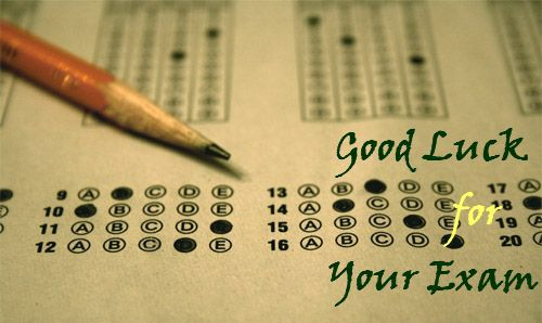 Best of Luck Quotes For Examination
