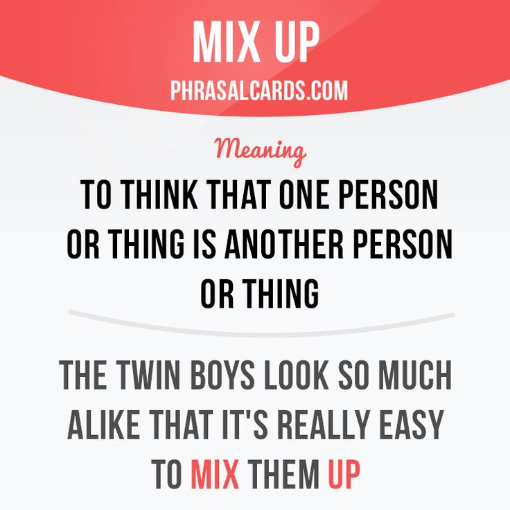 Mix up