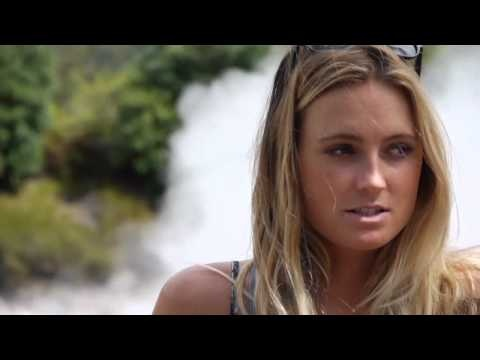 """Alana Blanchard in Azores  """"Portugal is so cool""""   Via PortugueseWaves.com 