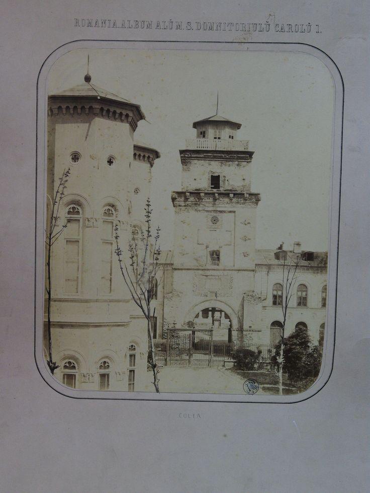 Carol Popp de Szathmary - Coltea (Colta) Tower - nowadays demolished - in 1867