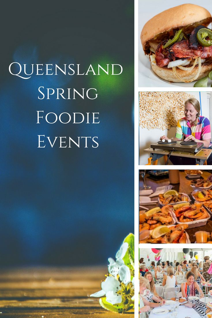 Spring brings some pretty fabulous festivals and events, and these aren't just music festivals, there's plenty on for foodies around Queensland too.  Check out the link for our round up of these events.  http://www.delectabletours.com.au/spring-foodie-events/  #spring #food #foodevents #foodies