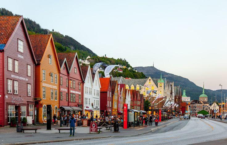 Bryggen i Bergen - null