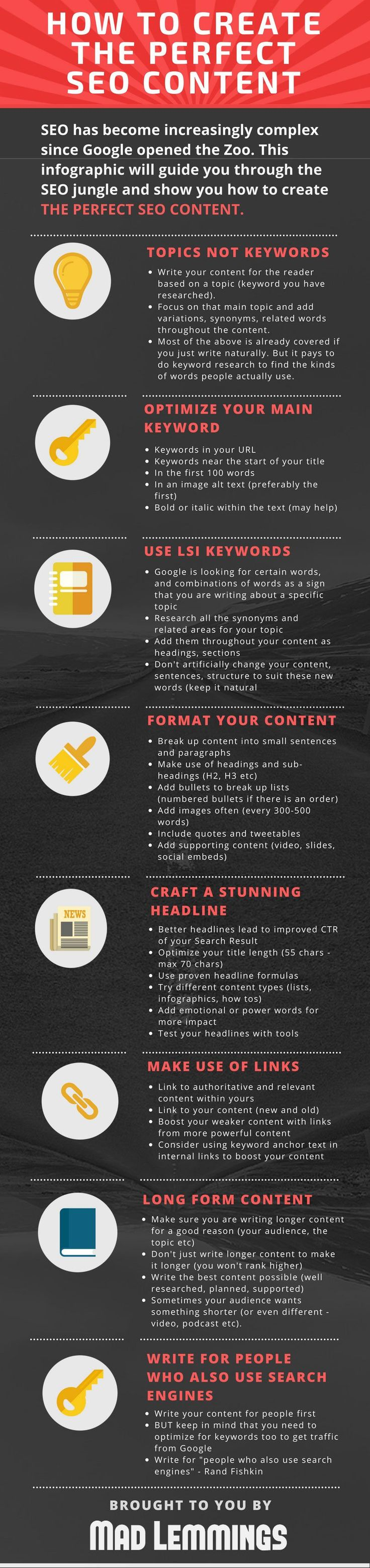 SEO Tips How to Create Website Content That Ranks Well on Google