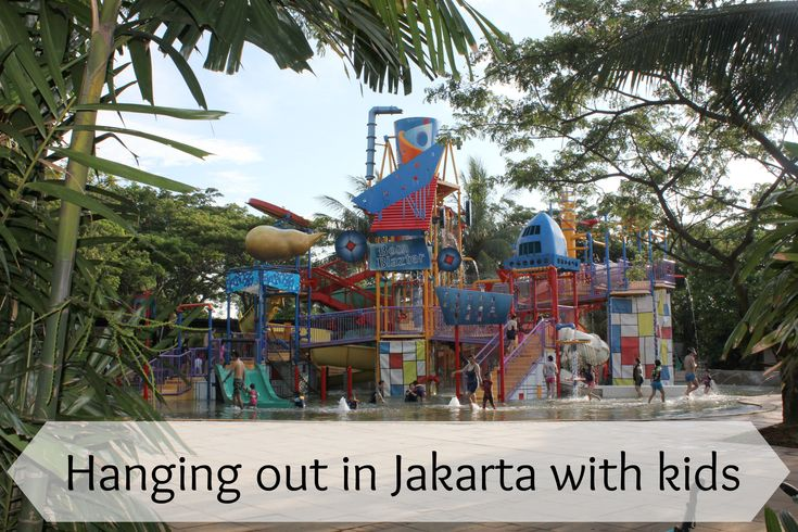 Hanging out in jakarta with kids by Life on Wallace