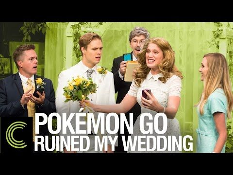 Pokémon Go Ruined My Wedding  When people use the technology in an unexpected way like an addiction.
