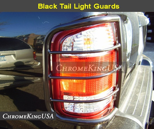 1996 2004 Nissan Pathfinder Black Tail Light Guards Rear Lamp Guard | eBay