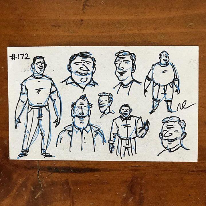 #willorr #art #172 #side2 #charactersketches #monday #pensketches #cartoonist #cartoons #sketching #drawing #portraitart #penandinkportraits #penandinksketches #pendrawing #draw #handdrawn #artist #caricature #comics #illustrations #artists #artistsoninsta #pilotpens #sketch #pen #ink #pilotg2 http://ift.tt/2s9eRPs - http://ift.tt/1U6eqe8